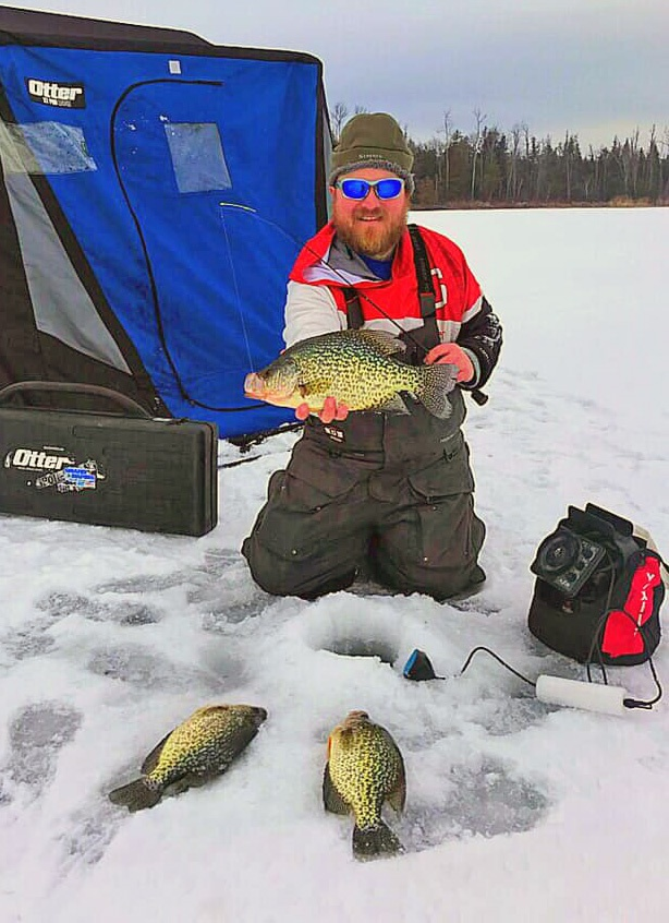 Ice Fishing with Lyle Unger, a professional Minnesota ice fishing guide gives you much better fishing success on the ice.