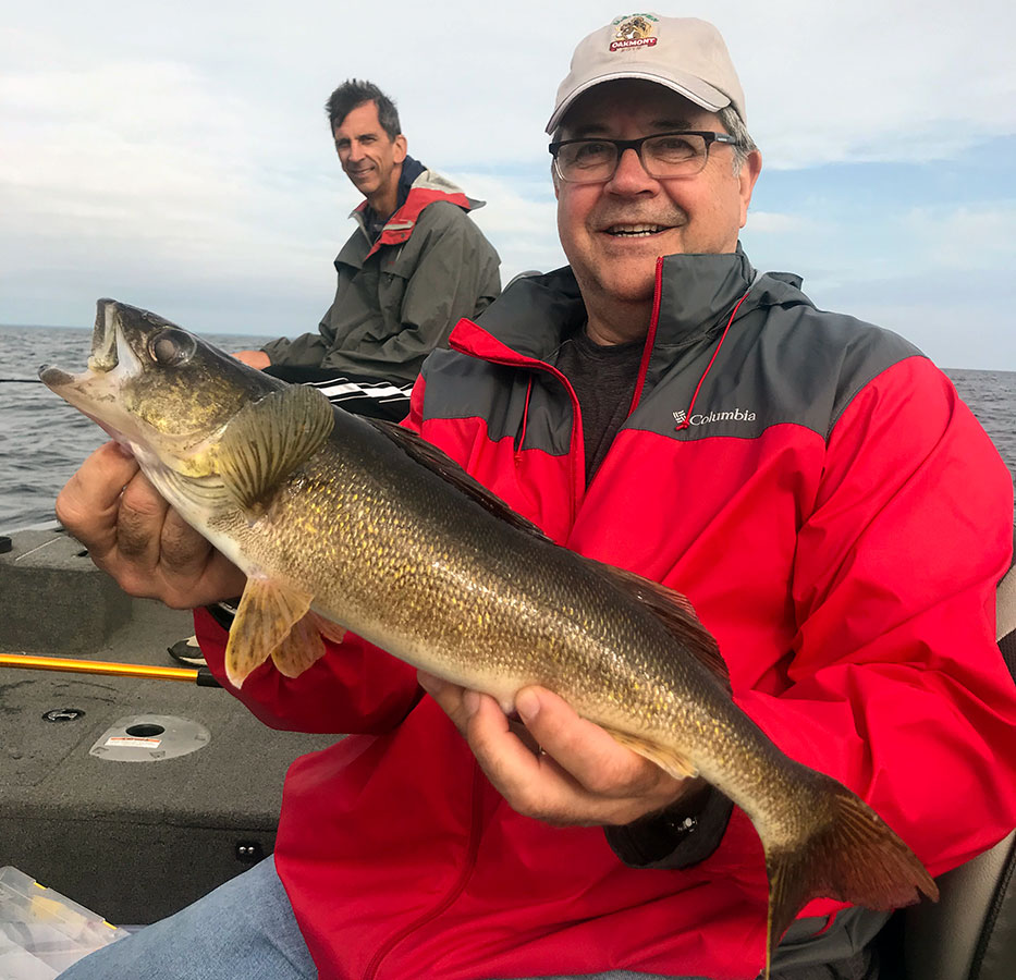 Guided fishing trips in Minnesota are more fun when your guide is Lyle Unger.
